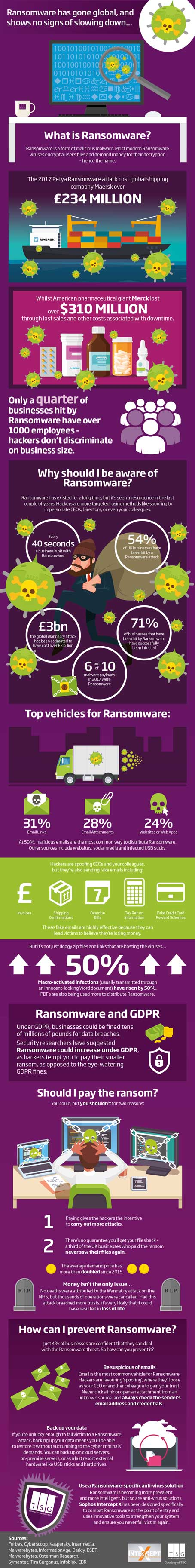 Ransomware Infographic - Technology Services Group